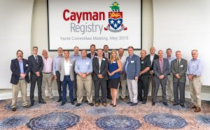 Members of the Cayman Islands  Ship Registry Yacht Committee