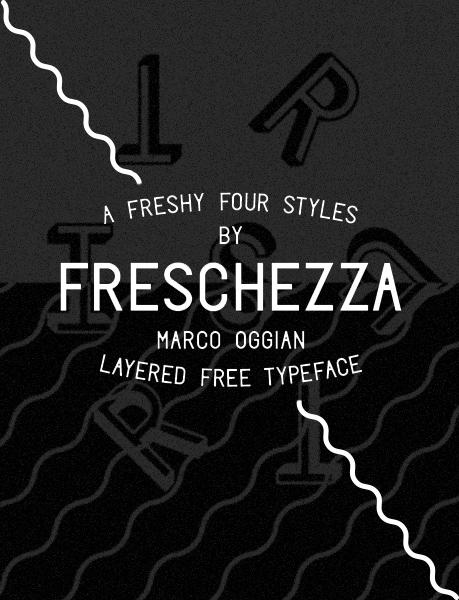 Freschezza-font