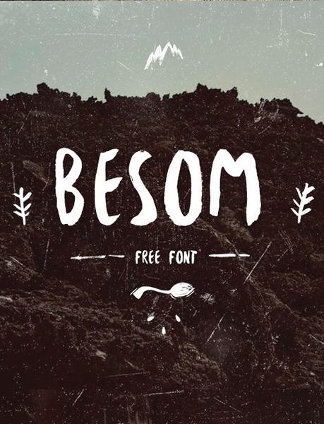 besom-font