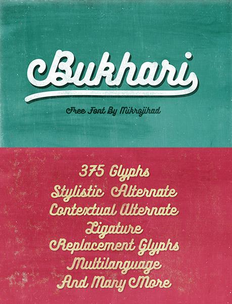 bukhari-font
